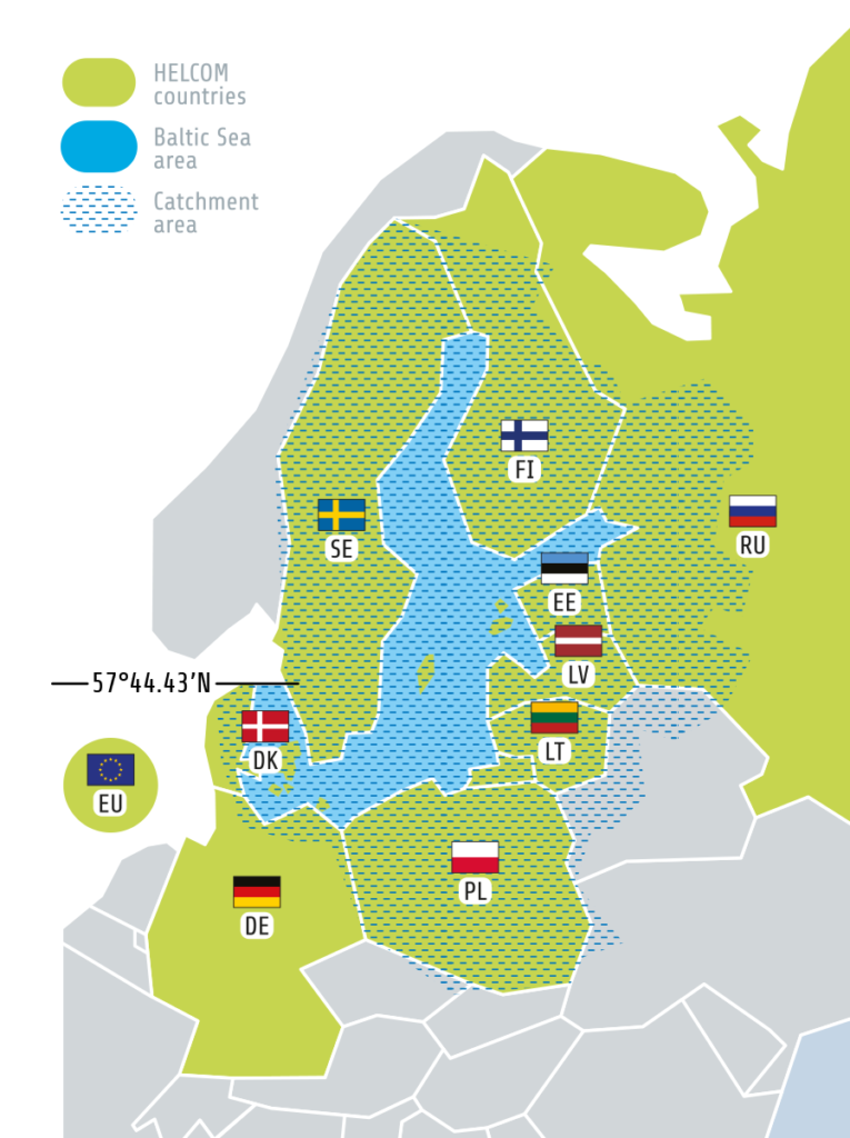 HELCOM map